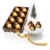 Praline Filled Chocolate Penguins