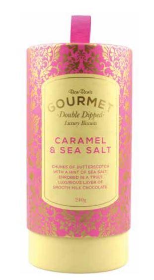 Sea salt and caramel biscuits