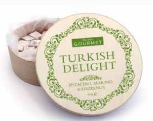 Turkish delight almond