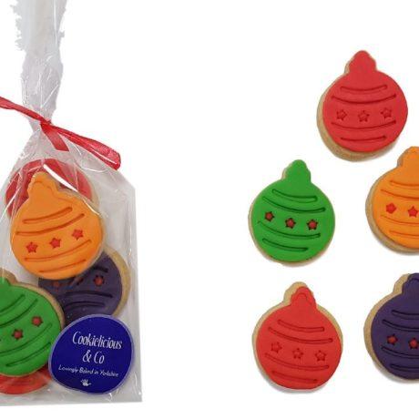 bauble biscuits