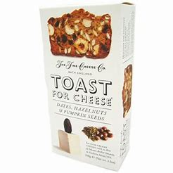 Toast for cheese – dates