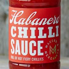 habanero chilli sauce