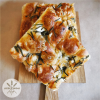 Leeds Bread Coop Rosemary & Sea Salt Focaccia Slice (available for delivery on Saturdays only but not available on 13th March)